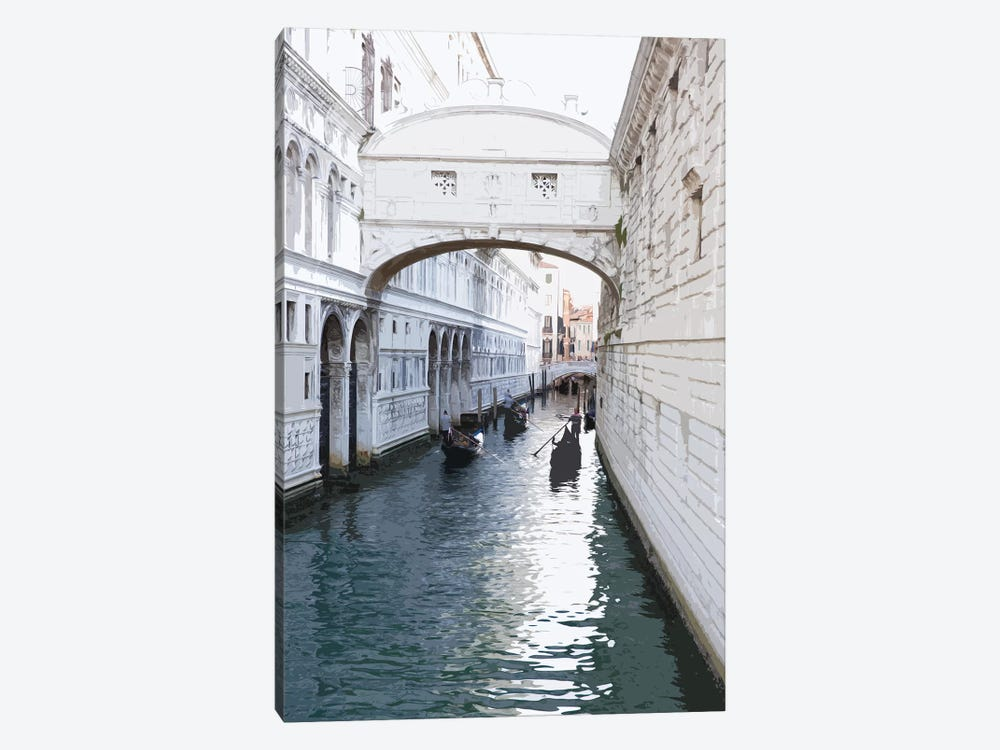 Venice Blue by Pixy Paper 1-piece Canvas Wall Art