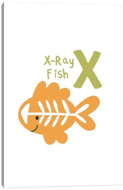 Animal Alphabet - X Canvas Art Print