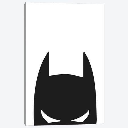 Batman Head Canvas Print #PXY64} by Pixy Paper Canvas Art Print