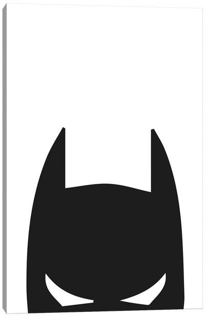 Batman Head Canvas Art Print