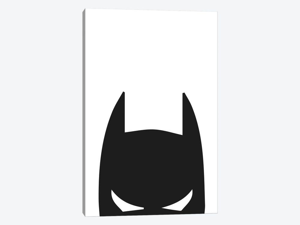 Batman Head by Pixy Paper 1-piece Canvas Wall Art
