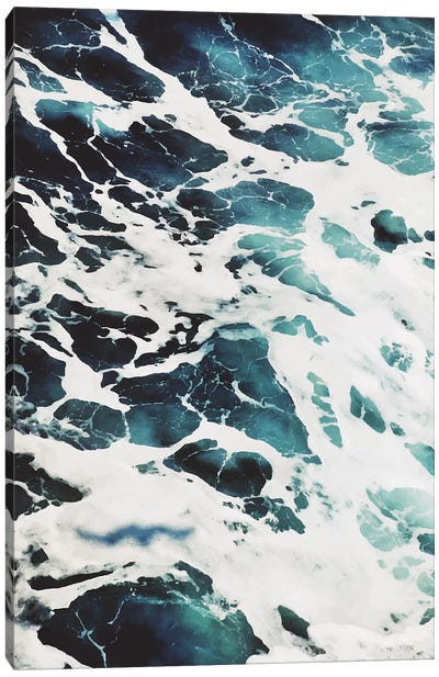 Blue Sea Canvas Art Print