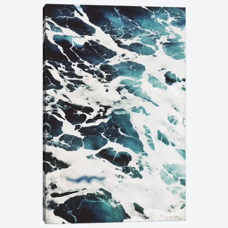 Blue Sea Canvas Print #PXY97} by Pixy Paper Canvas Art