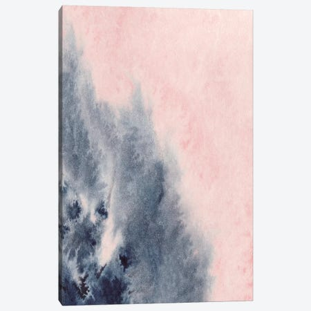 Blush & Navy Canvas Print #PXY99} by Pixy Paper Art Print