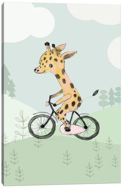 Bike Canvas Art Print