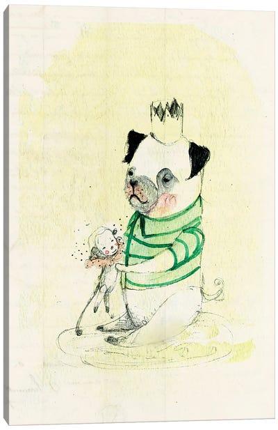 Edu Monkey Canvas Art Print