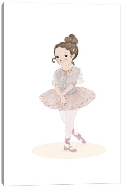 Ballerina Canvas Art Print