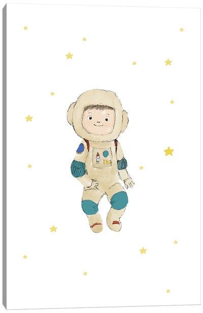 Baby Astronaut Canvas Art Print