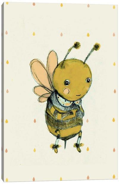 Bee Canvas Art Print