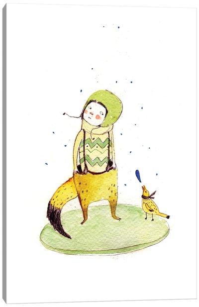 Custom Fox Canvas Art Print