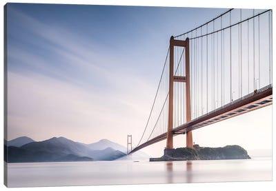 Xihou Bridge & Moon Bay Canvas Art Print