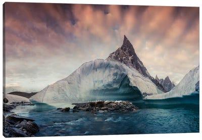 Pakistan K2 Canvas Art Print