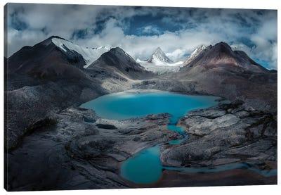 Kailash Range Canvas Art Print
