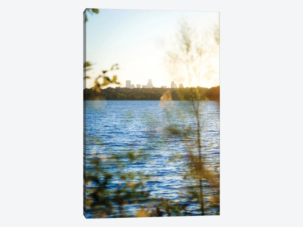 White Rock Sunset II by Sonja Quintero 1-piece Canvas Print