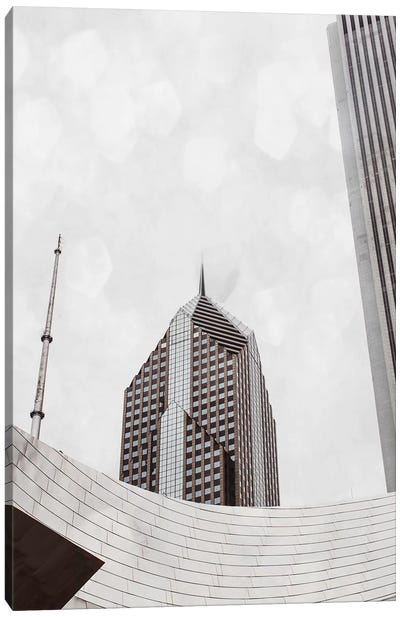 Chicago Monotone I Canvas Art Print