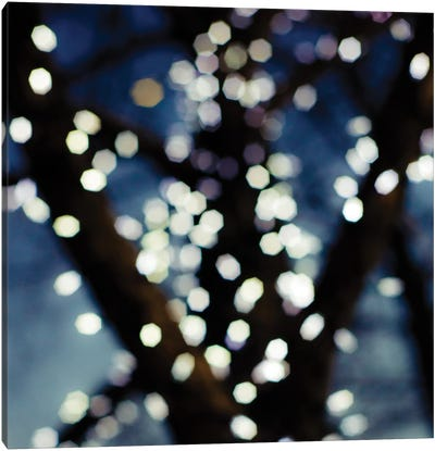 Bokeh Blue I Canvas Art Print