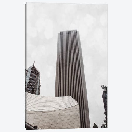 Chicago Monotone II Canvas Print #QNT20} by Sonja Quintero Canvas Artwork