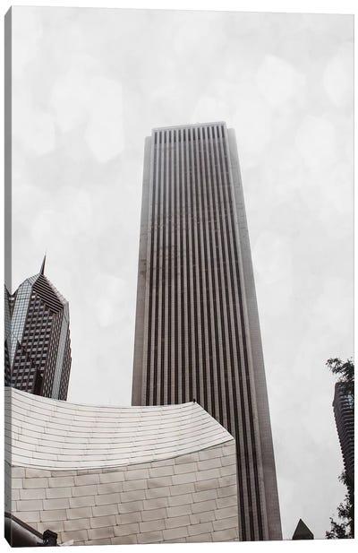 Chicago Monotone II Canvas Art Print