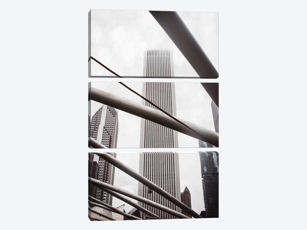 Chicago Monotone III by Sonja Quintero 3-piece Art Print