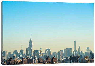 NYC Silhouettes I Canvas Art Print