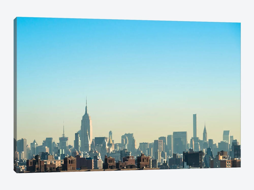 NYC Silhouettes I by Sonja Quintero 1-piece Canvas Art