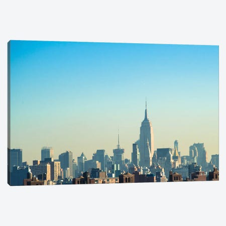 NYC Silhouettes II Canvas Print #QNT23} by Sonja Quintero Canvas Art