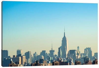 NYC Silhouettes II Canvas Art Print