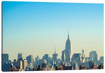 NYC Silhouettes II Canvas Art Print
