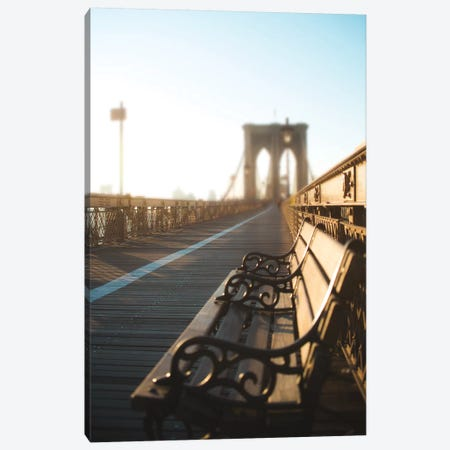 NYC Stroll I Canvas Print #QNT24} by Sonja Quintero Canvas Art Print