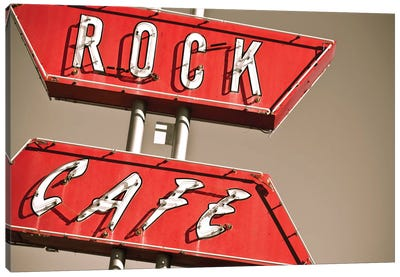 Cafe Rock I Canvas Art Print