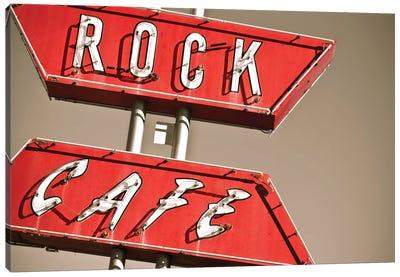 Cafe Rock I Canvas Art Print