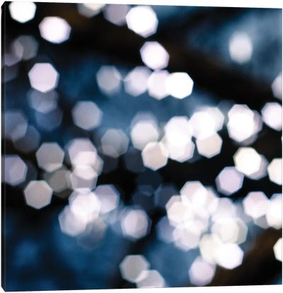 Bokeh Blue II Canvas Art Print