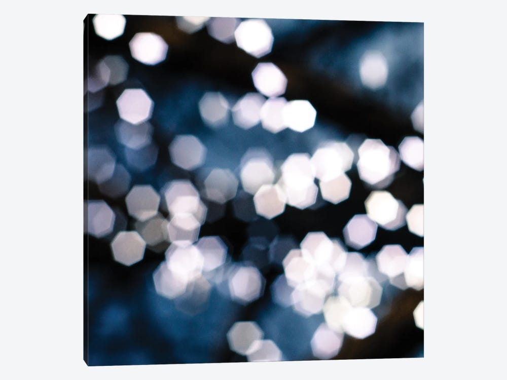 Bokeh Blue II by Sonja Quintero 1-piece Canvas Wall Art