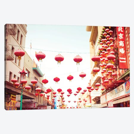 Chinatown Afternoon I Canvas Print #QNT36} by Sonja Quintero Canvas Art