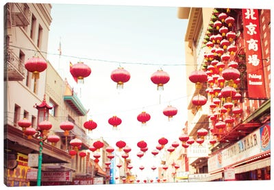 Chinatown Afternoon I Canvas Art Print