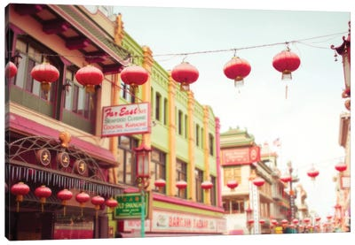 Chinatown Afternoon II Canvas Art Print