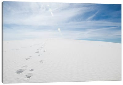 White Dunes I Canvas Art Print