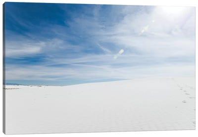 White Dunes II Canvas Art Print