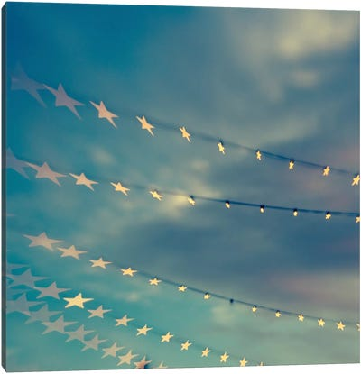 Bokeh Stars I Canvas Art Print