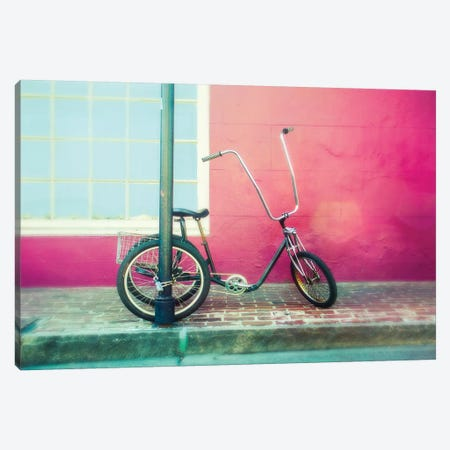 Lonely Trike Canvas Print #QNT42} by Sonja Quintero Canvas Artwork