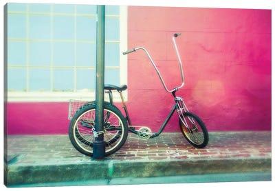 Lonely Trike Canvas Art Print