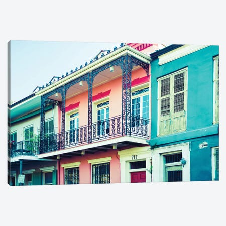 Nola Living Canvas Print #QNT43} by Sonja Quintero Canvas Wall Art