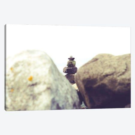 Bay Rocks I Canvas Print #QNT46} by Sonja Quintero Canvas Art Print