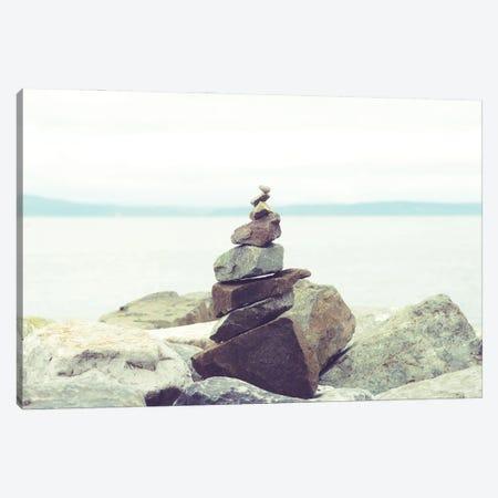Bay Rocks II Canvas Print #QNT47} by Sonja Quintero Canvas Print