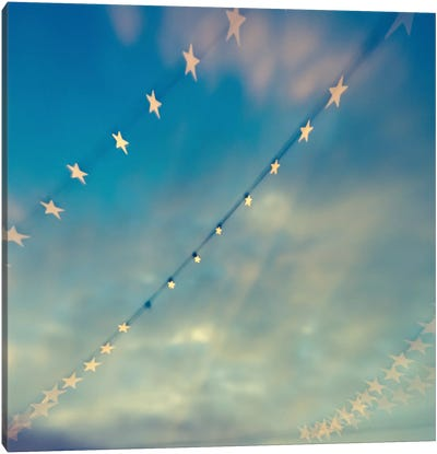 Bokeh Stars II Canvas Art Print
