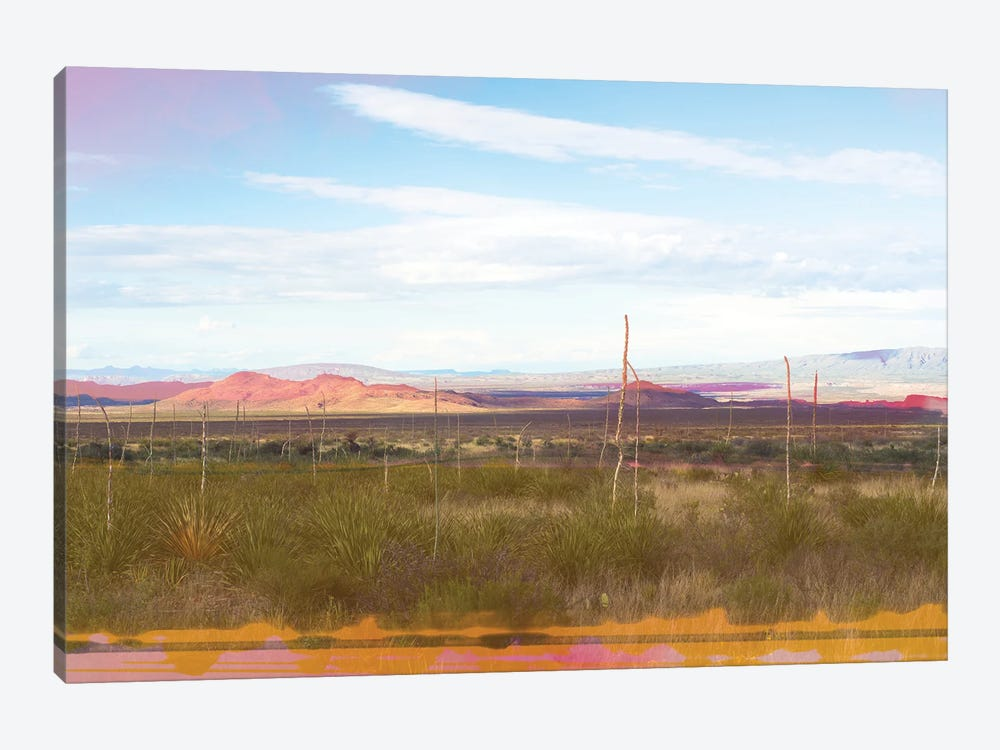 West Texas Scapes II by Sonja Quintero 1-piece Canvas Wall Art