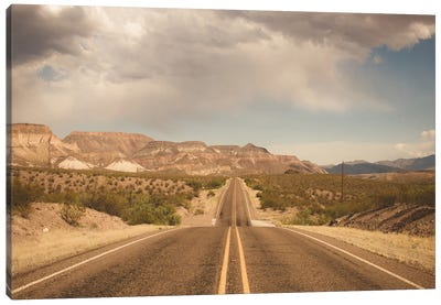 Where the Road Leads I Canvas Art Print