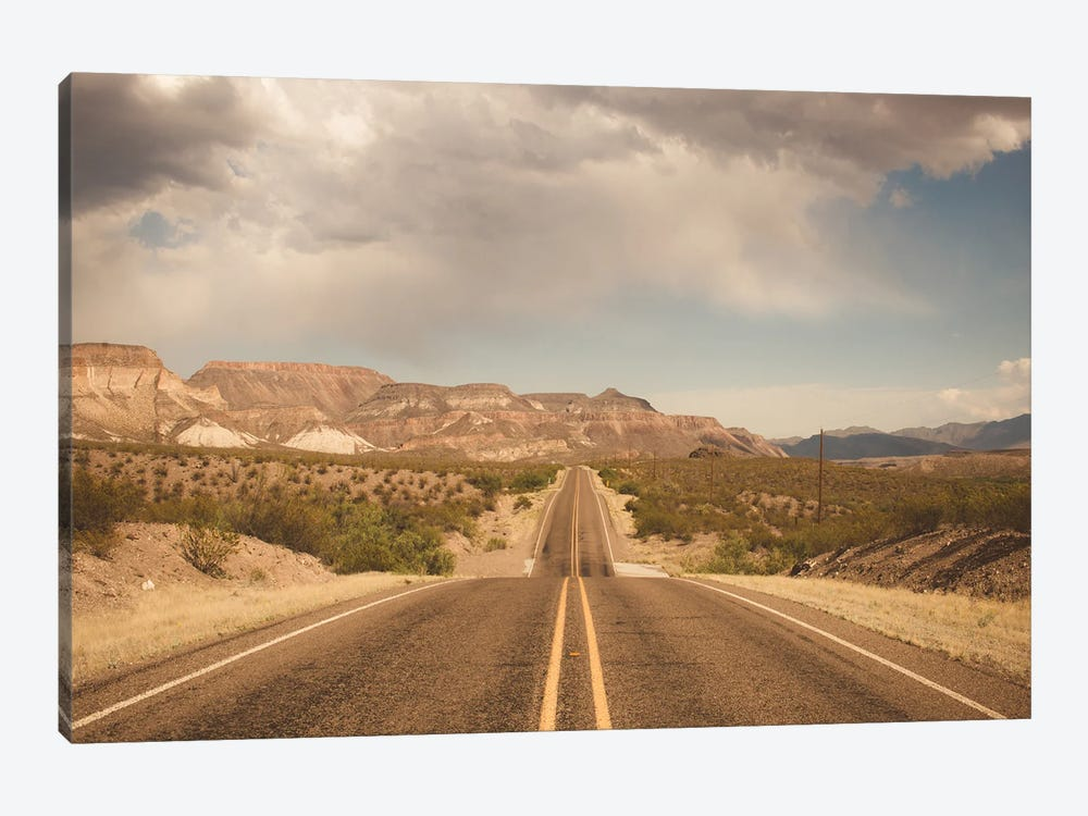 Where the Road Leads I by Sonja Quintero 1-piece Canvas Art Print