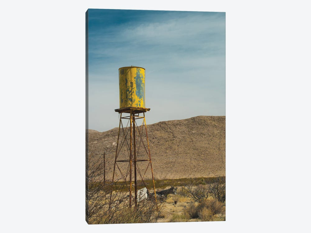 Yellow Water Tower I by Sonja Quintero 1-piece Canvas Print