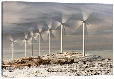 Wind Turbines Canvas Art Print
